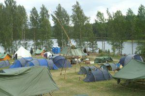 Wanderzelt, Zelt für Wanderer, Rucksack Zelt